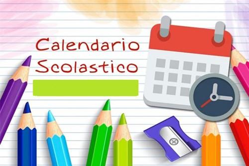 Calendario Scolastico 2021-22